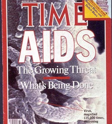Снимок журнала Таймс. История ВИЧ/СПИДа.